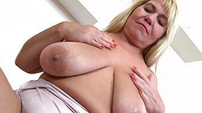 Mature Fingering, BBW, Blonde, Boobs, Chubby, Chunky
