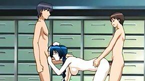 Anime, Anime, BDSM, Bisexual, Blowjob, Caught