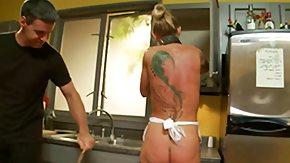 Spanking, Blonde, High Definition, Humiliation, Kitchen, Maid