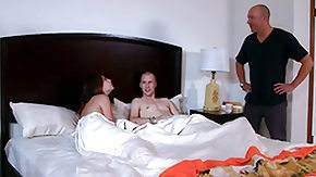 Wedding, 3some, Blowjob, Brunette, Doggystyle, Double