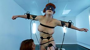 Electro, BDSM, Blindfolded, Brunette, Crying, Dutch