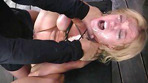 Poison, BDSM, Blonde, Bound, Choking, Deepthroat