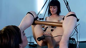 Electro, BDSM, Boobs, Brunette, Electro, Flat Chested