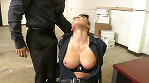 Office, Big Tits, Blowjob, Boobs, Bound, Brunette