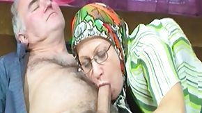Grandma, Blowbang, Blowjob, Experienced, Fucking, Glasses