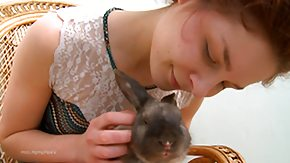 Free Russian Teen HD porn Erotic Bunny Vika as well a Big Dong