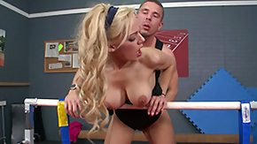 Gymnast, Big Cock, Big Pussy, Big Tits, Blonde, Boobs