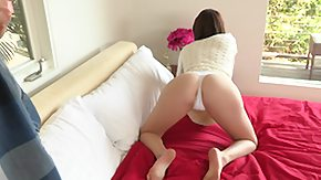 French Teen, Anorexic, Bed, Bend Over, Best Friend, Blowjob