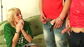 Grandma, 18 19 Teens, Barely Legal, Blonde, Blowjob, Experienced
