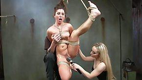 Hanging, BDSM, Blonde, Fisting, Threesome, Vibrator