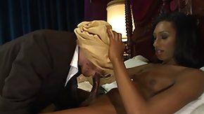 Towel, Blindfolded, Handjob, Interracial, Ladyboy, Shemale