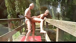 Oldman, Blonde, Dad and Girl, Hardcore, High Definition, Old and Young