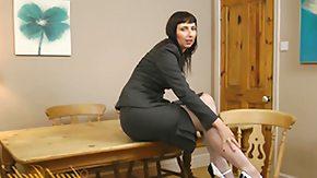 Mature Stocking, Amateur, Garter Belt, Leggings, Legs, Long Legged