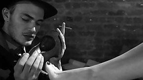 Christian Wilde, Allure, BDSM, Beauty, Cigarette, Close Up