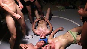 Humiliation, Bukkake, Gay, Group