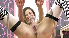 Golden Shower, Amateur, Brunette, Dildo, Fetish, Golden Shower