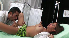 Luana Varella HD porn tube Elegant sheboy Luana Varella is getting some kissable healing from dashing doctor