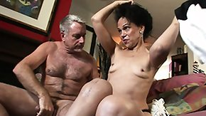 Grandma, Blowjob, Brunette, Experienced, Fur, Grandfather