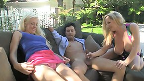 Rachel Love, 3some, Blonde, Blowjob, Group, Mature