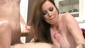Milf And Teen, 3some, Amateur, Big Tits, Blowjob, Boobs