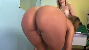 Free Fernanda Hot HD porn Gig butt tanned with dark hair babe Fernanda Hot gives unexplainable throat session to skinny blonde cross-dresser Sabrina with tits raw meaty boner in