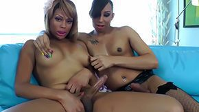 HD Kourtney Kisses tube Blond with dark hair shemales giving every other sweet hand gig at the same time they lick their tits Kourtney Kisses Honey Foxxx