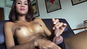 Bound Tit, Black Shemale, Futanari, Ladyboy, Shemale, Tgirl