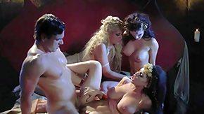 Vintage Lesbian, 3some, 4some, Banging, Big Ass, Big Tits