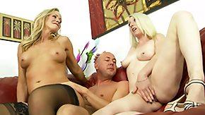 Daughter, 3some, Blonde, Daughter, Fucking, Group