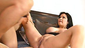 Huge, Bed, Big Tits, Boobs, Brunette, Hardcore