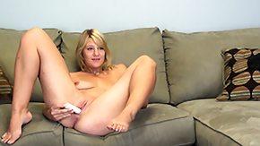 Ashden Wells, Blonde, Dominatrix, Femdom, Masturbation, Mature