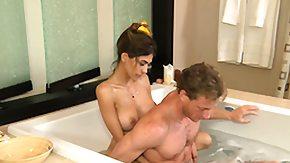 Bath, Amateur, Bath, Bathing, Bathroom, Blowjob