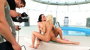 Lesbian Pool, Babe, Best Friend, Brunette, Friend, Lesbian