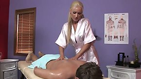 First Time, Babe, Blonde, Horny, Massage, Masseuse