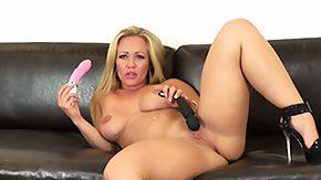 Austin Taylor, Big Tits, Blonde, Boobs, Dildo, Granny Big Tits