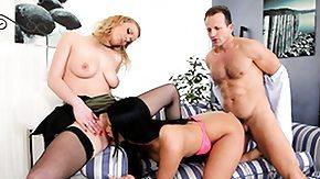 Anita Vixen, 3some, Babe, Blonde, Blowjob, Brunette