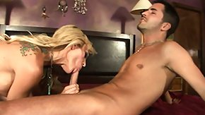 Sarah Jessie, Blonde, Blowjob, Boobs, Horny, Lick