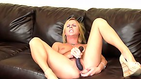 Aria Austin, Babe, Blonde, Crying, Dildo, Masturbation