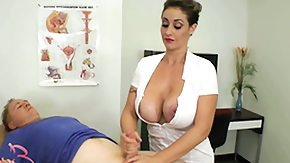 Handjob, BDSM, Big Cock, Big Tits, Boobs, Brunette