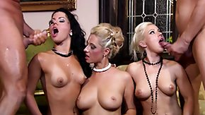 Many, Big Cock, Big Tits, Blonde, Blowjob, Boobs