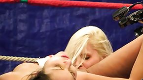 Wrestling, Babe, Blonde, Brunette, Cunt, Fight