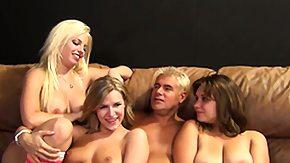 Chrissy Nova, Blonde, Blowjob, Brunette, Group, Hardcore