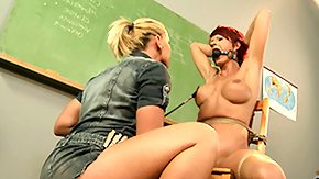 Whipping, Babe, BDSM, Blonde, Blowjob, Brunette