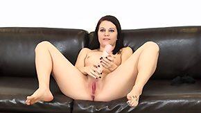 Brandi Belle, Brunette, Fingering, Masturbation, Penis, Solo