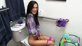 Toilet, 18 19 Teens, Amateur, American, Anorexic, Ass
