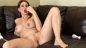 Allison Moore, Big Tits, Boobs, Dildo, Masturbation, Solo