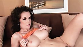 Moaning, Babe, Big Pussy, Big Tits, Boobs, Brunette