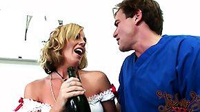 Bella Cole, Babe, Blonde, Blowjob, Champagne, Cumshot