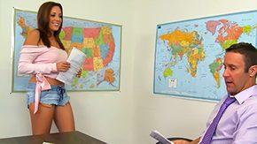 Free Scarlett Marx HD porn Scarlett giving taskmaster to her teacher 18yo american cocklicking dark brown class classroom college coed student desk education lick male tanned minor act of sexual procreation adult baby