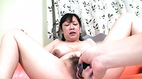 Squirt orgy with grannies masturbating onto guy